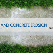 Proper Functioning Gutter Systems Help Prevent Lawn & Concrete Erosion